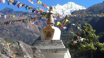 Everest High Passes Trek Via Chhukung